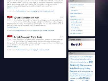 Blog designing, writing