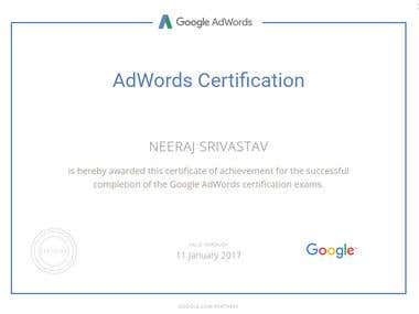 Adwords Certification- Advance search
