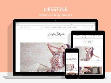 Life Style - Responsive Blog & Magazine Wordpress Theme