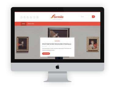 Sormila -  Responsive Wordpress Blog Theme
