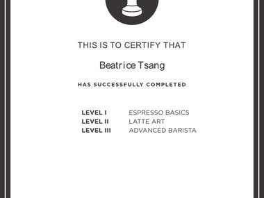 Espresso School Certificate - A Joomla Extension