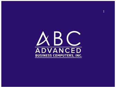 Logo Design for Advance Business Computer