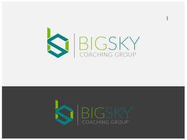 Logo Design for Big Sky Coaching Services