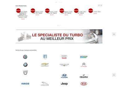 Auto Parts to Sell Turbo Garrett