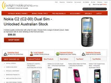 Mobile Phone site