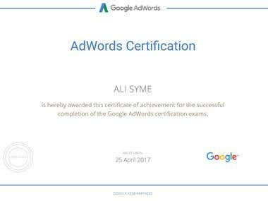 Google AdWords for Search Certification