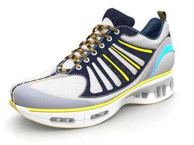 Modelling 3D Shoe