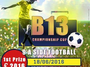 B13 banner design