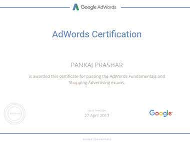 Certified Google Shopping Partner