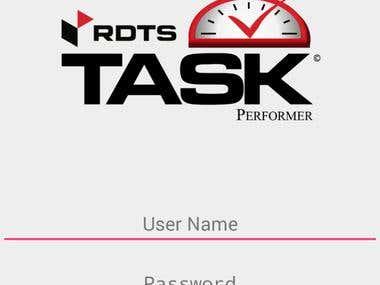 RDTS Mobile App
