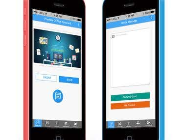 App MockUp for GRUZ