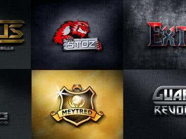 Logo, mascotte, eSport, Gaming