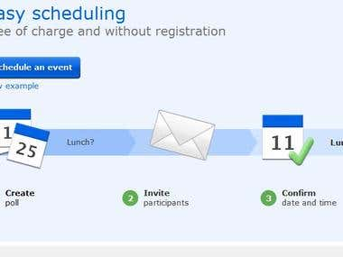 Easy Event Schedulling