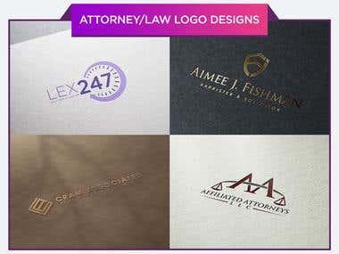 Attorney Logo Designs