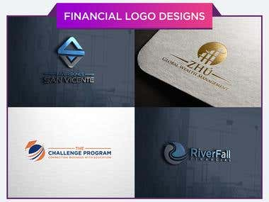 Financial Logo Designs