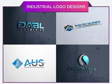 Industrial Logo Designs..