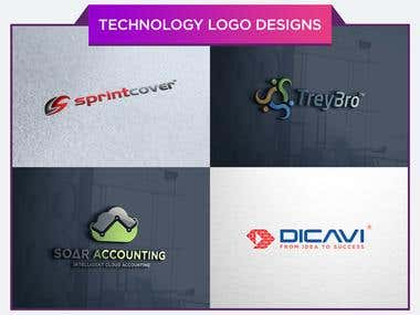 Technology Logo Designs