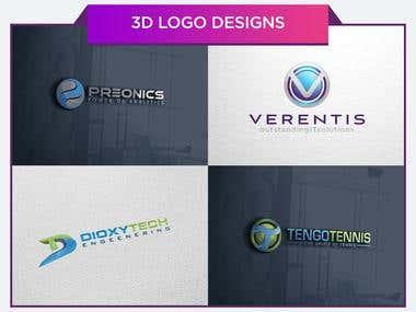 3D Modern Logo Designs