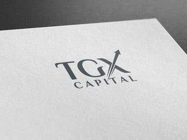 TGX Capital Logo Design