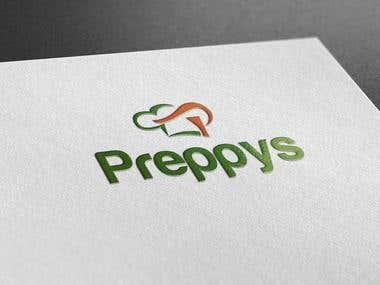 Logo Design for Preppy's - Kitchen
