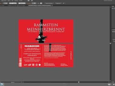 Rammstein Concert Tickets.