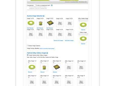 Auctiva.com with eBay Products Listings
