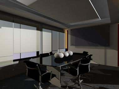 3D model  and rendering,