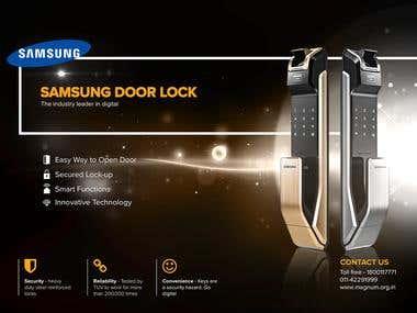 SAMSUNG Door Lock Ad