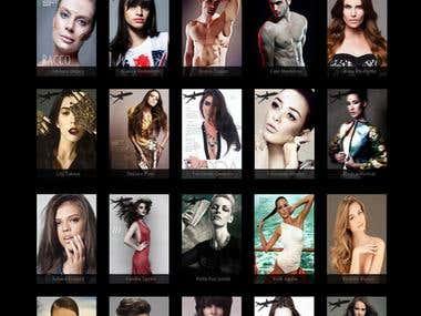 Web Site Casablanca Models