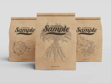 ECOLOGIC BAGS PACKAGING SAMPLE