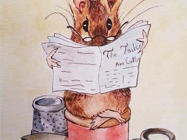 THE TAILOR OF GLOUCESTER (TRIBUTE TO BEATRIX POTTER)