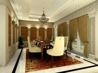 Interior designing- rendered images