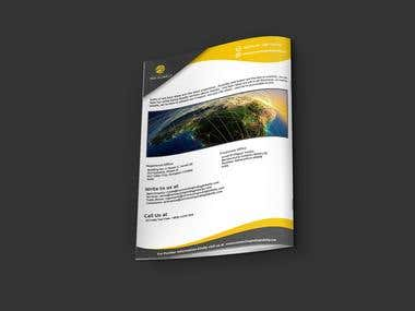 A4 4-page Technology Brochure