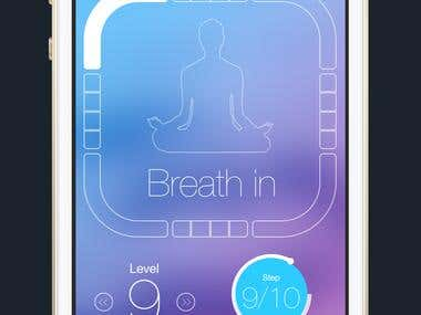Box Breathing iOS app