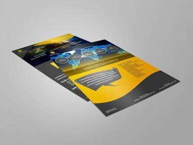 2 Side A5 Flyer Design