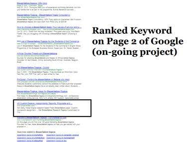 Rank Keyword on Major Search Engines like Google, yahoo