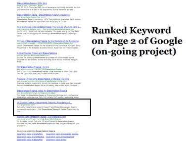 Rank Keyword on Major Search Engines like Google, yahoo