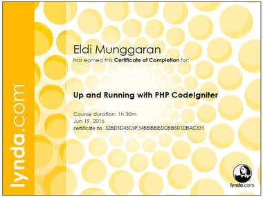 Up and Running with PHP CodeIgniter