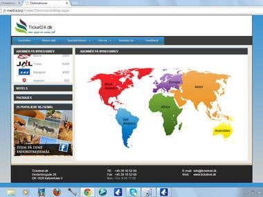 Travel Web CMS