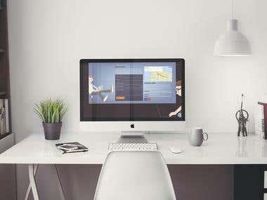 Complete Website Mockup For Education Work