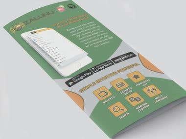 Zalunu Mobile App Brochure