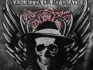 Vendetta Or My Death Logo