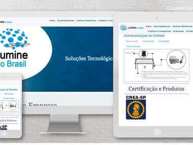 Website Lumine do Brasil