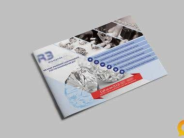 Brochure Design for R3 Diamonds