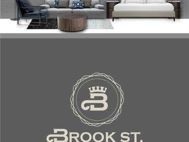 Brook St Logo Entry