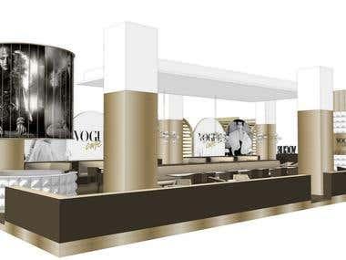Cafe Concept Design