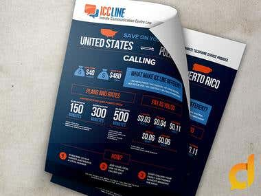 Flyer Design for ICCLine