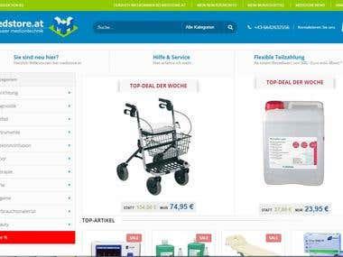 Medstore Site (Magento)