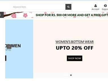 E-com Web Sites