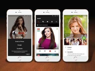 Dating App (IwantU)